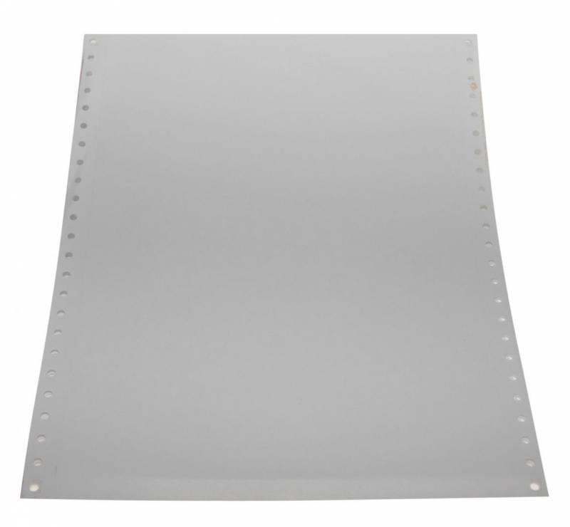Edb-papir 1-banet blank 12 x240mm 14006 2500stk/pak