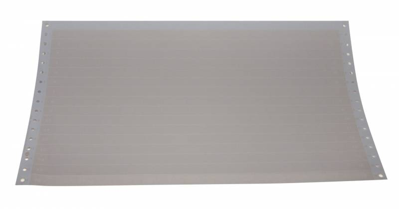 Edb-papir 1-banet m/tryk 8,5 x375mm 12016 2500stk/pak