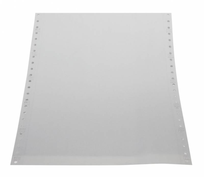 Edb-papir 2-banet blank selvkop 12 x240mm 14016 1000stk/pak