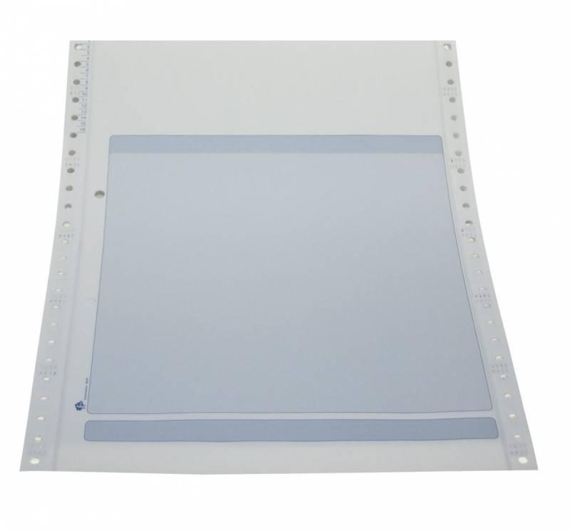 Edb-papir 3-banet m/tryk Fakt. 12 x240mm 26026 800stk/pak