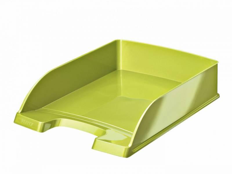 Image of   Brevbakker Leitz Plus Standard A4 højde 60mm WOW limegrøn