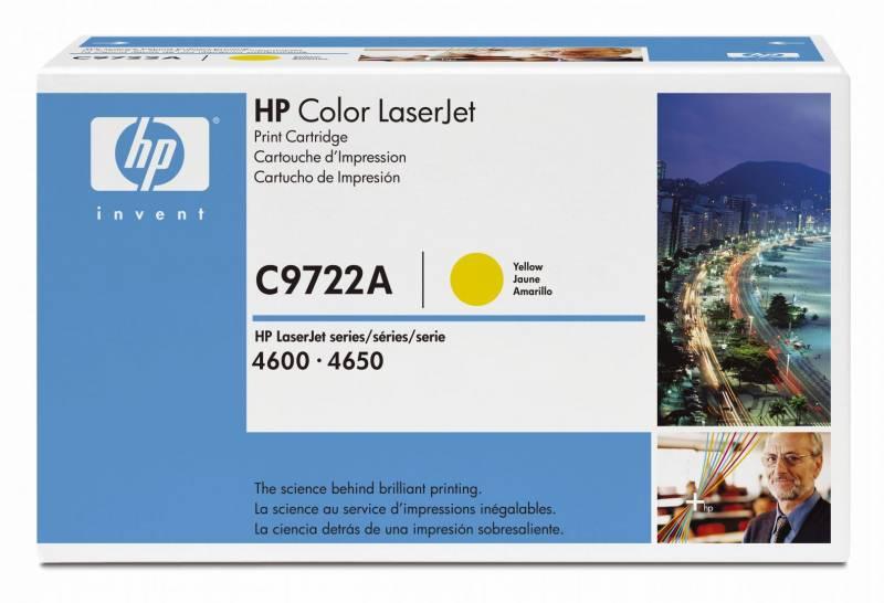 Billede af HP Toner yellow HV CLJ4600