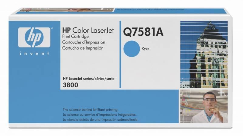 Billede af HP Toner cyan HV Color Laserjet 3800DTN