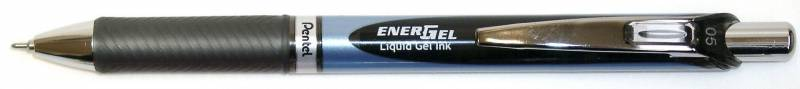 Image of   Rollerpen Pentel EnerGel sort 0,5mm BLN75-A