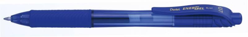 Billede af Rollerpen Pentel EnerGelX blå 0,7mm BL107