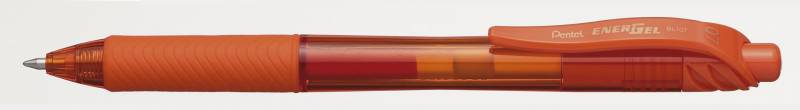 Image of   Rollerpen Pentel EnerGelX orange 0,7mm BL107