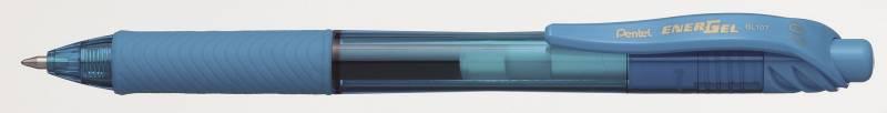 Billede af Rollerpen Pentel EnerGelX lysblå 0,7mm BL107