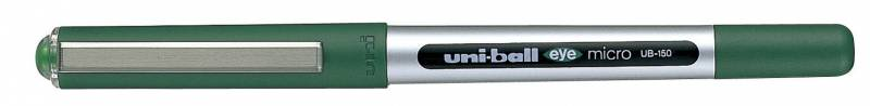 Image of   Rollerpen Uni-ball grøn 0,2mm UB-150 Eye Micro