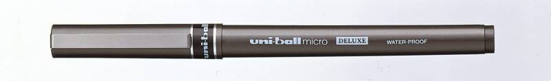 Image of   Rollerpen Uni-ball blå 0,2mm UB-155 DeLuxe Micro