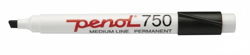 Image of   Marker Penol 750 sort 2-5mm