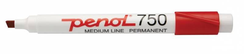 Marker Penol 750 rød 2-5mm
