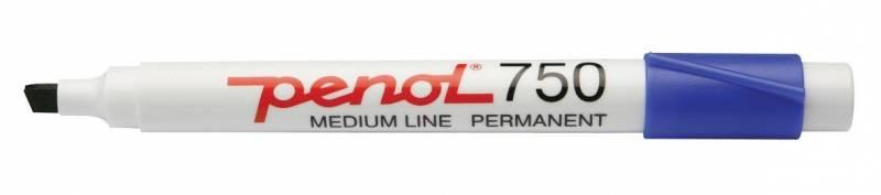 Image of   Marker Penol 750 blå 2-5mm