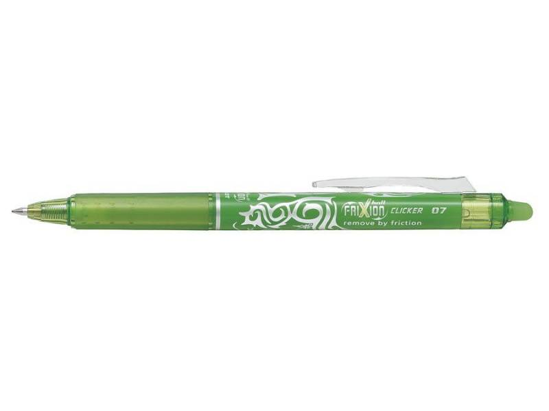 Image of   Kuglepen Pilot Frixion Clicker lime medium 0,7