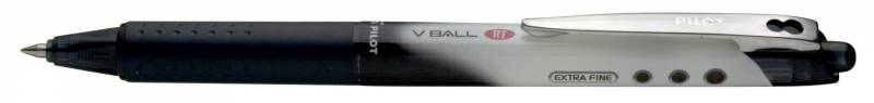 Image of   Roller Pilot V-Ball BLRT-VB stregbred 0,3mm sort F