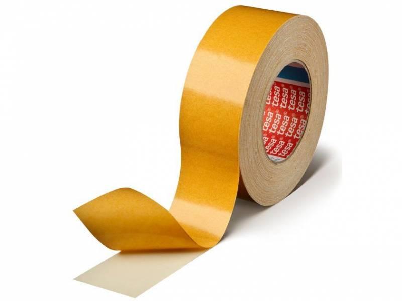 Image of   Tape tesa dobb. klæb hvid 48mmx25m 4964