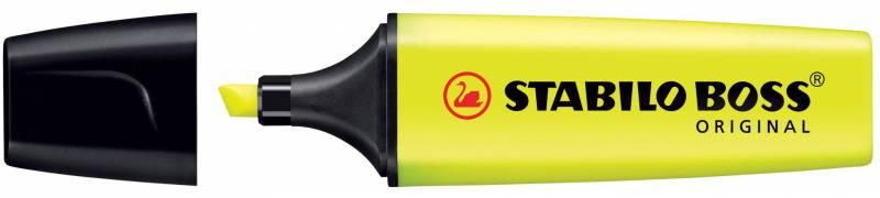 Billede af Tekstmarker Stabilo Boss gul paper-copy-fax