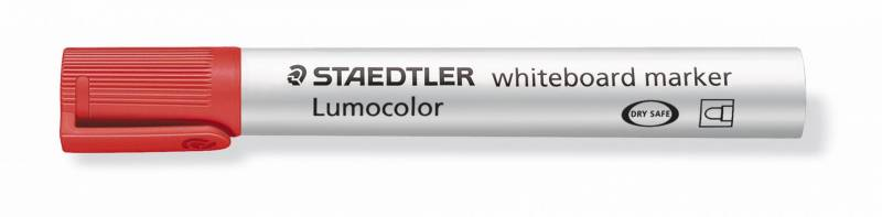 Whiteboardmarker Staedtler 351 rød Lumocolor 2,0mm