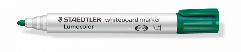 Whiteboardmarker Staedtler 351 grøn Lumocolor 2,0mm