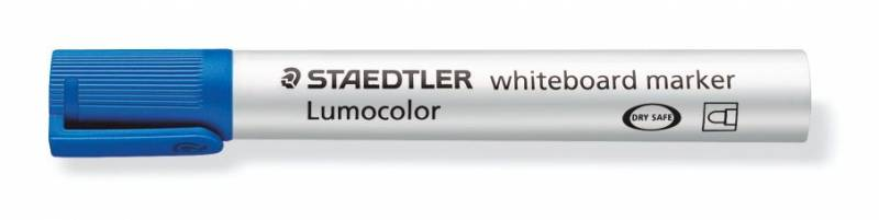 Whiteboardmarker Staedtler 351 blå Lumocolor 2,0mm