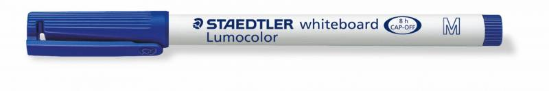 Billede af Whiteboardmarker Staedtler 301 blå Lumocolor 1,0mm