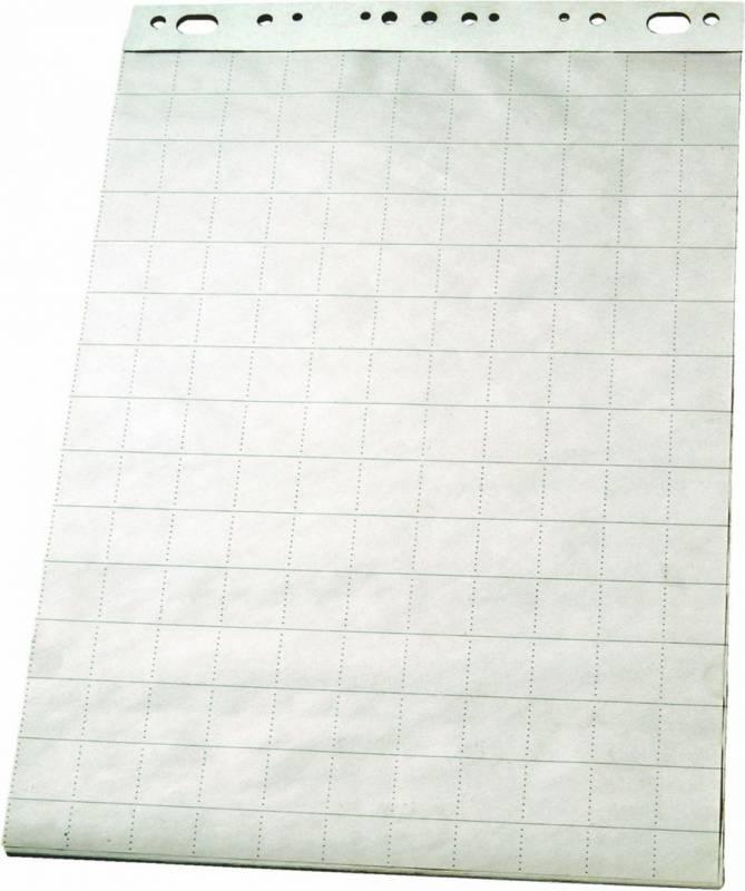 Flipoverpapir Esselte 85x60cm ternet 50ark/stk 96551