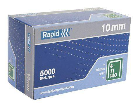 Image of   Hæfteklammer Rapid 140/10 5000stk/pak