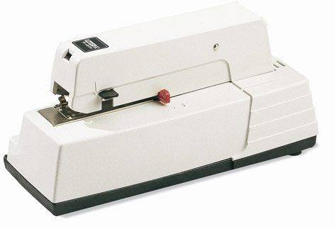 Image of   Hæftemaskine el Rapid 90EC hvid klamme 66/6