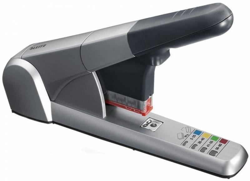 Image of   Blokhæftemaskine Leitz 5551 m/4 kassetter m/klammer