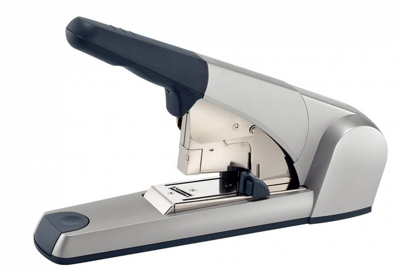 Image of   Blokhæftemaskine Leitz 5553 sølv t/klamme 23/15