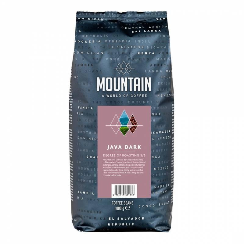 Billede af Kaffe BKI *Java Mørk* hele bønner 1kg/ps
