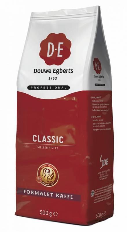 Kaffe DE Classic 500g/ps