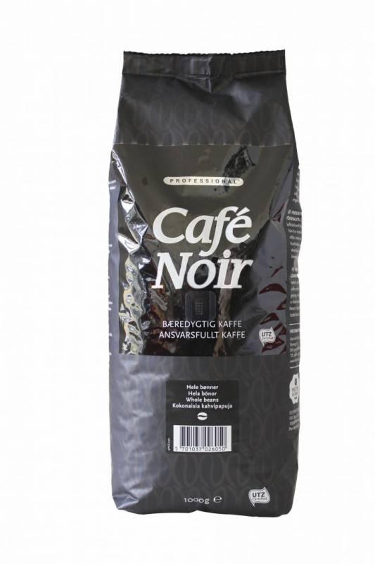 Kaffe Café Noir hele bønner 1kg/ps