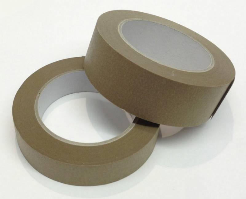 Image of   Tape PVC32 brun solvent 38mmx66m støjsvag