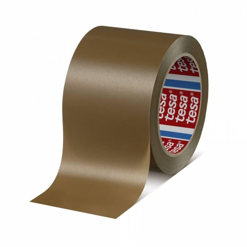 Tape tesa rillet PVC brun 75mmx66m 4100