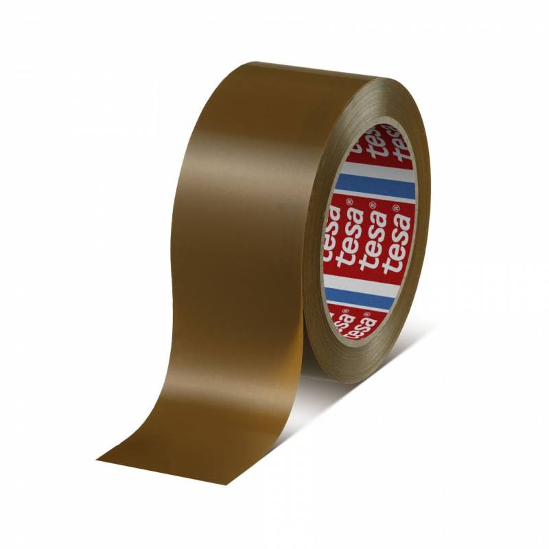 Image of   Tape tesa PVC brun 48mmx66m 4124