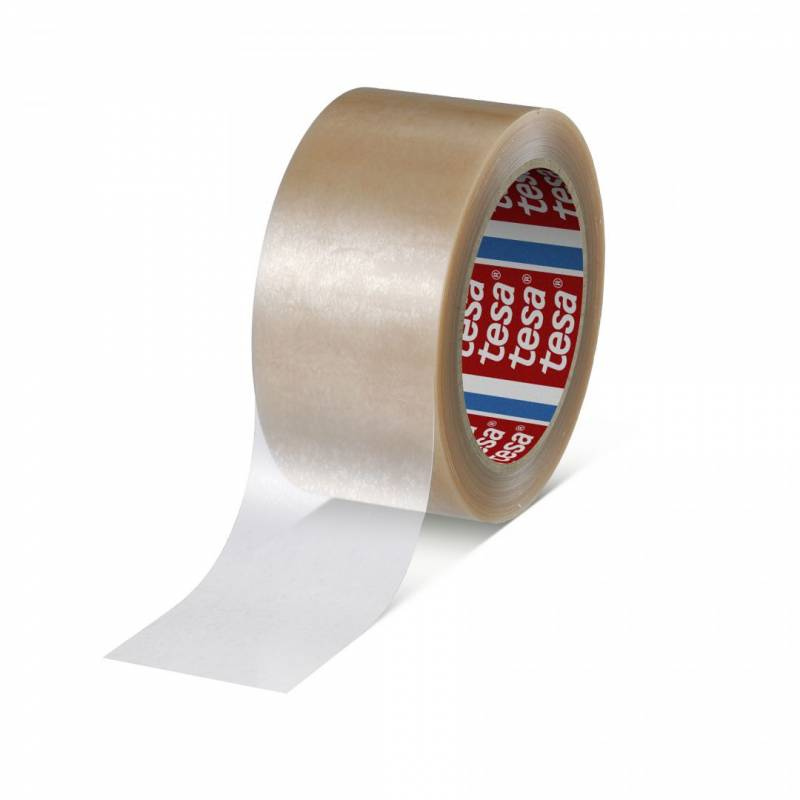 Image of   Tape tesa PVC klar 48mmx66m 4124