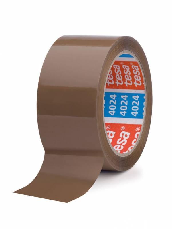Image of   Tape tesa PP acrylic brun 4024 48mmx66m