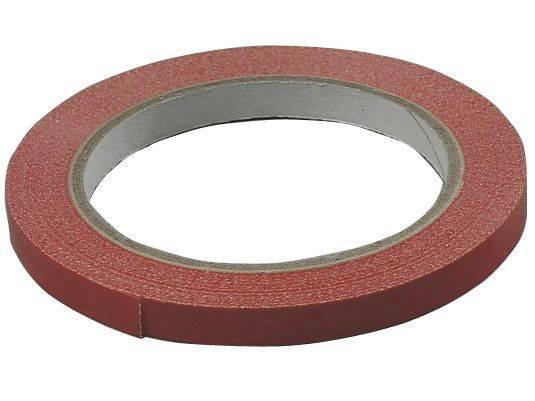 Image of   Tape PVC-s rød 9mmx66m til bl.a. poselukker