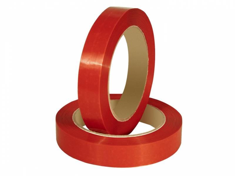 Billede af Tape PVC-s rød 12mmx66m til bl.a. poselukker