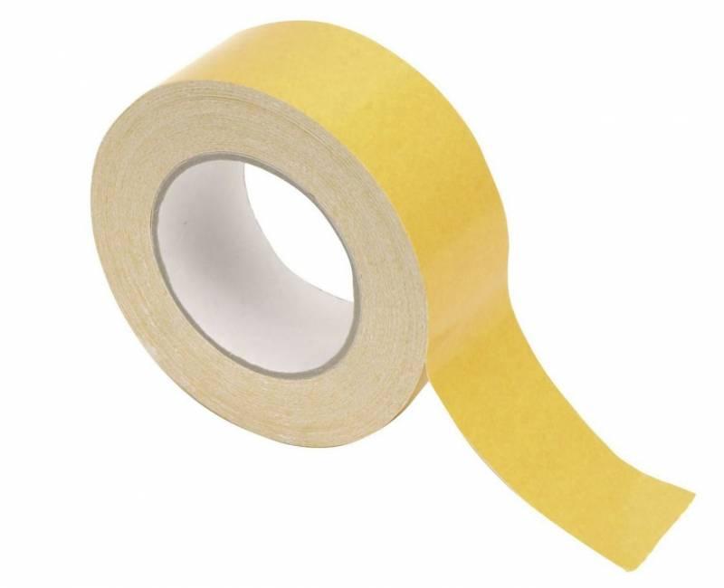Tape dobb. klæb lærred 48mmx25m