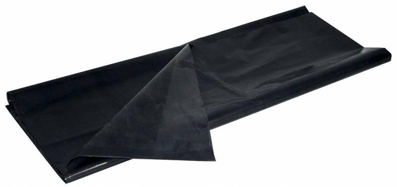 Affaldssække plastik sort 720x1120mm løse 97my