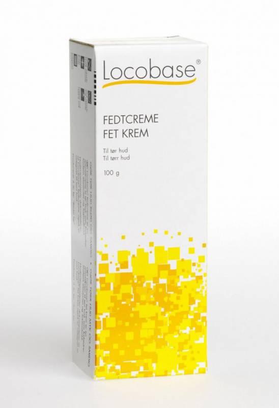 Fedtcreme Plum Locobase tube 100ml