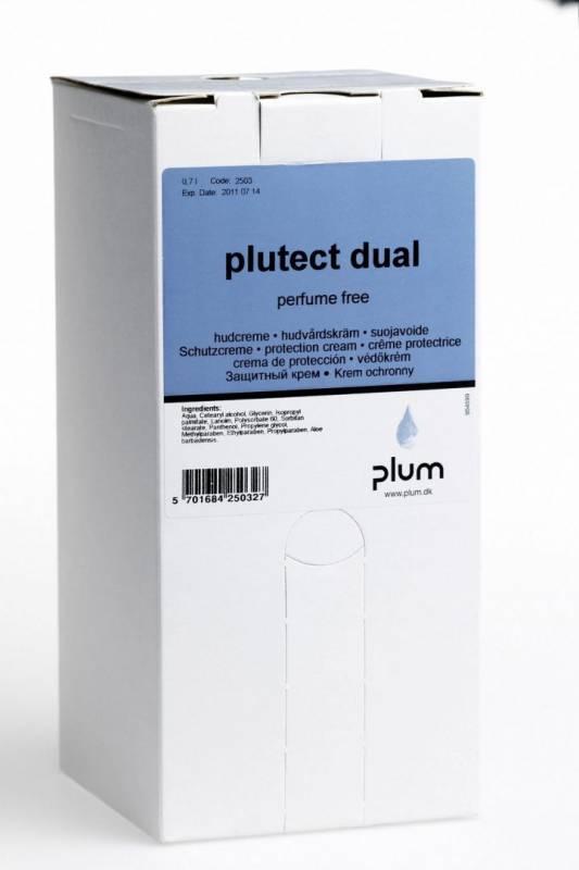 Håndcreme Plutect Dual 0,7l 2503 usynlig handske