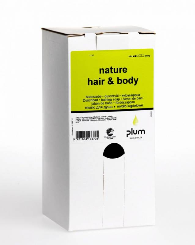Image of   Sæbe Plum Nature Hair & Body 1,4l 1737