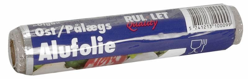Billede af Ostefolie alu 14cmx20m smørrebrødsfolie