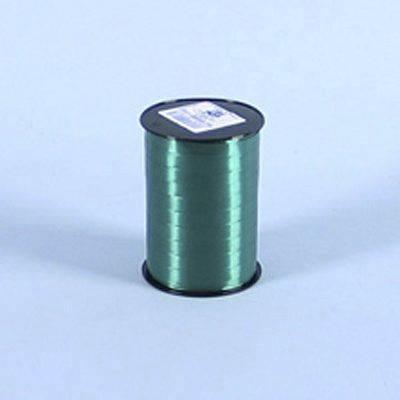 Billede af Gavebånd glat mørk grøn 10mmx250m nr. 87