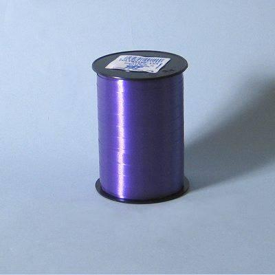 Billede af Gavebånd glat mørk lilla 10mmx250m nr. 49