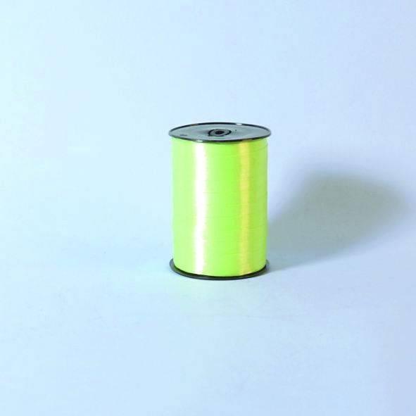 Billede af Gavebånd glat limegrøn 10mmx250m nr. 38