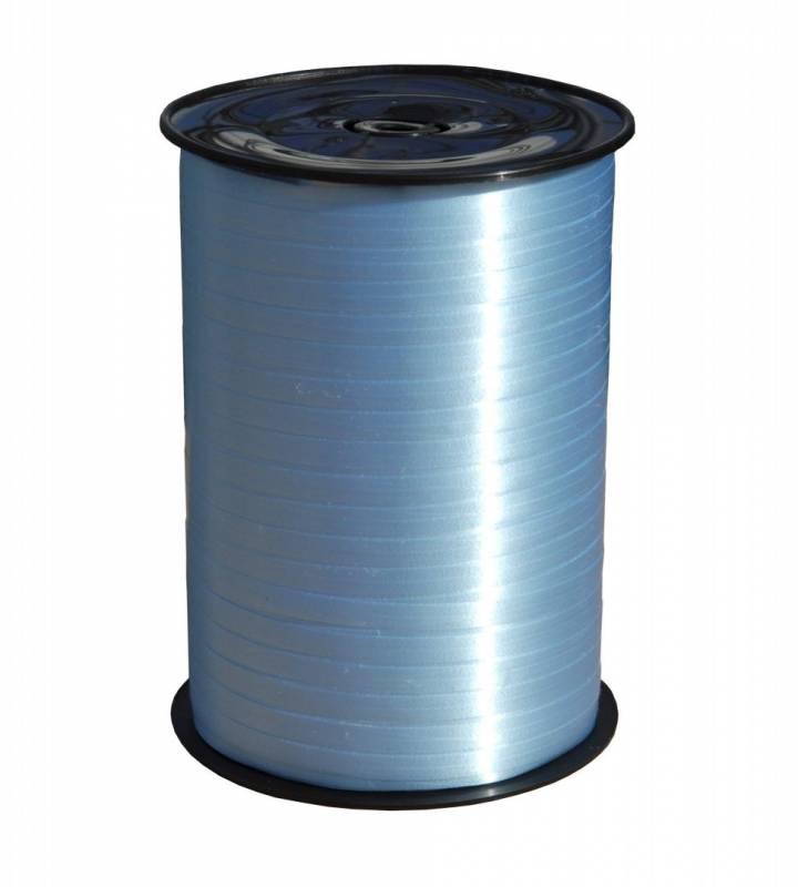 Billede af Gavebånd glat lys blå 10mmx250m nr. 14