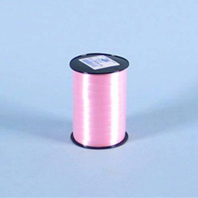 Billede af Gavebånd glat lys rosa 10mmx250m nr. 12